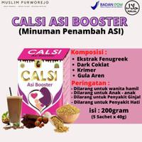 Calsi ASI Booster - Minuman Coklat Penambah Asi Boster