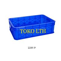 CONTAINER BOX INDUSTRI SERBAGUNA 2291 P GREEN LEAF / KOTAK BAK WADAH