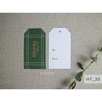FPS_HT25-34 Hang Tag Kartu Ucapan Lebaran Hamper Gift Natal/Christmas