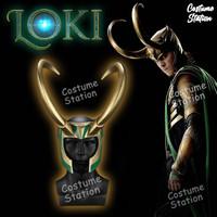 Loki's Horn Set / Tanduk Kepala Loki Topeng Mask Avengers Marvel