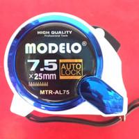Meteran 7.5 meter x 25mm Heavy Duty Auto Lock