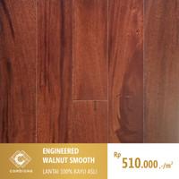 Parket Lantai Kayu ASLI / Solid and Engineered / Motif Walnut Smooth