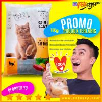 ORI CAT FOOD 1KG MAKANAN KUCING PREMIUM CAT FOOD