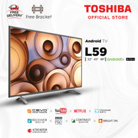 Toshiba 49 inch 2K LED Android Smart TV FHD [Free Bracket] 49L5995