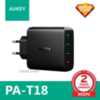 AUKEY PA-T18 CHARGER 4 PORTS 18W QC 3.0 & AiQ