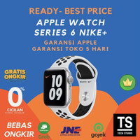Apple Watch Series 6 NIKE Silver with White Sport 44mm 40mm 44 40 mm