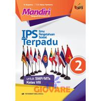Buku Mandiri IPS Terpadu SMP Kelas 8 Erlangga kurikulum 2013 Suparno