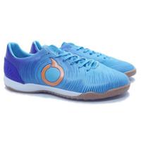 Sepatu Futsal Ortuseight Catalyst Oracle IN - Pale Cyan/Vortex Blue
