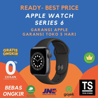 Apple Watch Series 6 Space Grey with Black Sport 44mm 40mm 44 40 mm