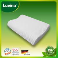 Luvina Bantal Eco Latex / Bantal Contour 100% Natural Latex