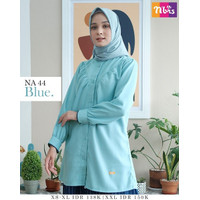 ATASAN NIBRAS NA 044 / Baju Atasan Wanita Muslim Nibras NA Terbaru