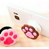 Pop Socket HP 3D Motif Tapak Kucing CAT PAW