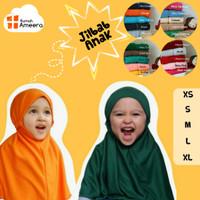 Jilbab Anak Instan / Syiria / Jilbab Polos / Kerudung / Hijab