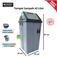 KOMET - Tempat Sampah 42 Liter   Dustbin  Keranjang Sampah