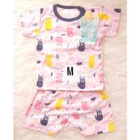 Baju Bayi Libby Setelan Pendek S, M, L 6-24 bulan GIRL