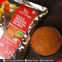 Bubuk Gula Aren Organik 1kg - Brown Sugar Kristal - Bandar Powder
