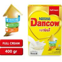 Dancow FORTIGO susu nestle COKLAT / FULL CREAM / INSTAN PUTIH 400gr