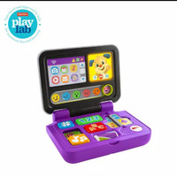 Fisher Price Laugh & Learn Click n Learn Laptop - Mainan Edukasi