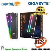 Gigabyte Memory RAM DDR4 3600 16GB 2X8 AORUS RGB