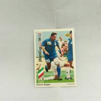 kartu bola roberto baggio italy world cup 94