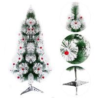 Tseloop-C15 Pohon Natal 90CM 3F Jarum Dekorasi Rumah Artificial Hiasan