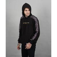 Jaket hodie pria strip batik / jaket pria original salvio hexia