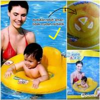Ban Renang Anak Donat Model Duduk Celana Baby Bayi Swim Safe Bestway
