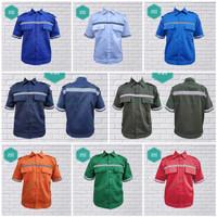 Atasan Kerja Lengan Pendek Wearpack Safety / Baju Kerja / Baju Proyek