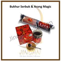 Bukhur Serbuk Sabaya Black Oud dan Arang Magic