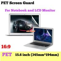 PET Screen Guard Laptop 15 15.6 inch Antigores Protector LCD Notebook