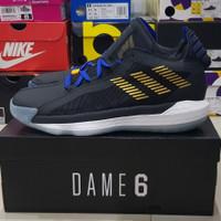 sale sepatu basket adidas dame 6 stone cold 3:16 original 100% size 44