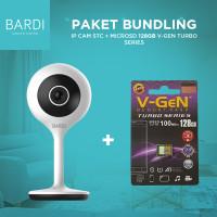 BARDI Smart IP Camera CCTV + Micro SD 128GB V GEN class10