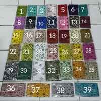 slayer bandana motif batik per 10 pcs sapu tangan kain
