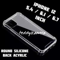 Anti Crack iPhone 12 Series Ready All Tipe Acyrlic High Quality Case