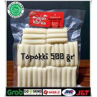 Topoki/Toppoki/Tteokbokki/Topokki/Rice Cake 500 gr Jajan Korea