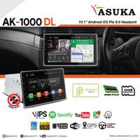 Headunit Android 10 inch Universal Asuka AK 1000 DL Non DVD