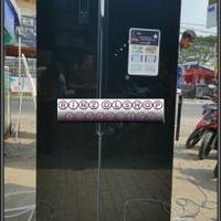 KULKAS GEA G2D 563 SIDE BY SIDE INVERTER 2 PINTU GLASS DOOR NEW RC-67