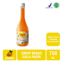 Tropicana Slim Sirup Orange 750ml (Jabodetabek Only) - Sugar FREE