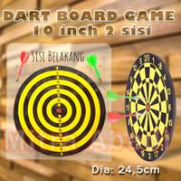 Dart Board Game / Papan Permainan Panah Ukuran 10 / 24.5 cm