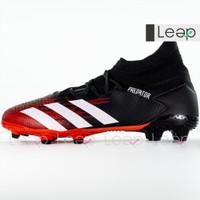 Sepatu Bola Adidas Predator Mutator 20.3 FG Black White Red