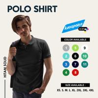 Kaos Polo / Kaos Kerah / Baju Polo / Polo Shirt Cotton Lacoste Pique