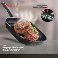 Happycall Diamond Square Grill Pan 28CM