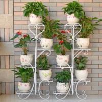 Rak Bunga Tanaman - Rak bunga hias - Standing pot - Hiasan taman