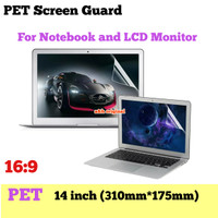 PET Screen Guard Laptop 14 inch Antigores Protector LCD Notebook