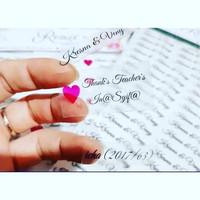 Cetak Stiker / Label Bahan Transpan / Bening Ukuran A3 Plus Cutting