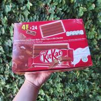 NESTLE kitkat 4F Cokelat halal kitkat coklat 4 Finger 1 DUS ISI 24