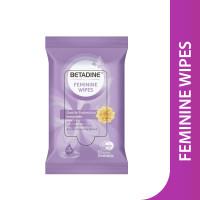 Betadine Feminine Wipes Gentle Protection Immortelle 10s / Tissue