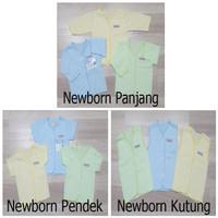Baju Bayi NEWBORN 0-6 Bulan Katun Adem