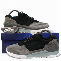 Sepatu Sneakers Asics Gel Respector Mooncrater Black Grey 39 - 44 BNIB