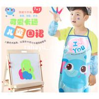 apron celemek set anak waterproof/ apron anak/apron painting-RY21